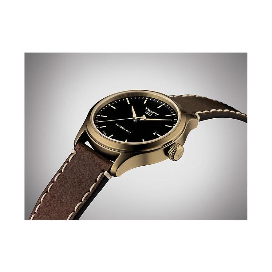 Tissot Herrenuhr Gent XL Swissmatic T1164073605100