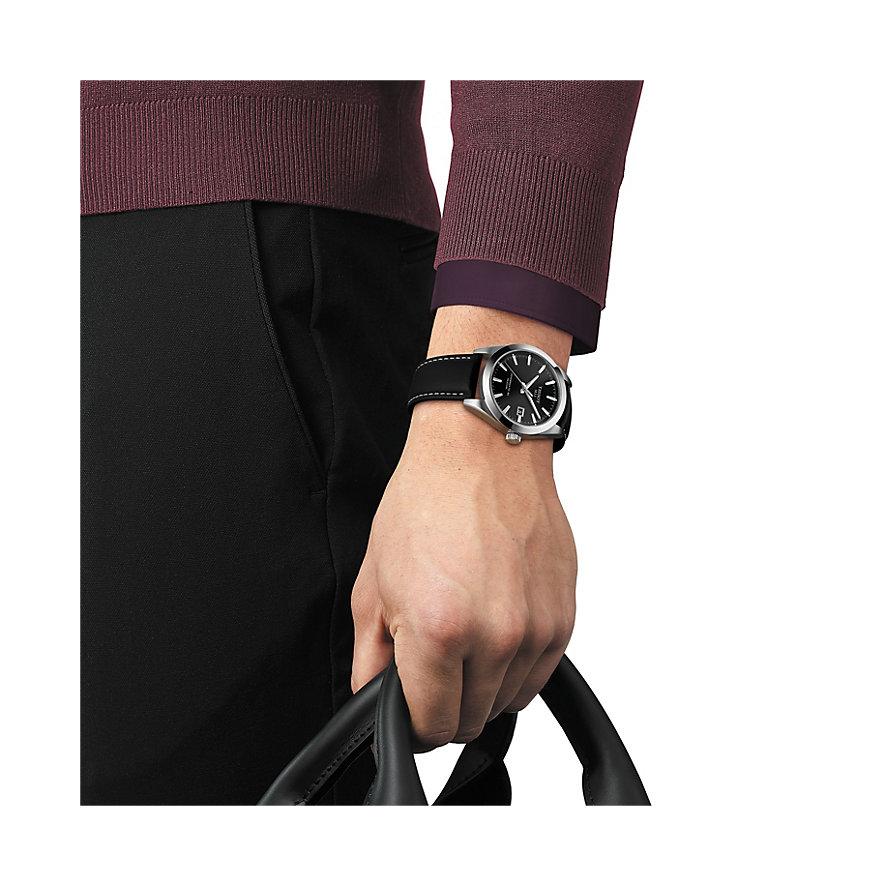 Tissot Herrenuhr Gentleman Powermatic 80 Silicium T1274071605100