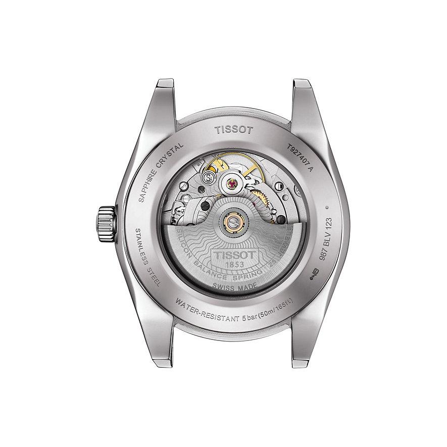 Tissot Herrenuhr Gentleman Powermatic 80 Silicium T9274074103101