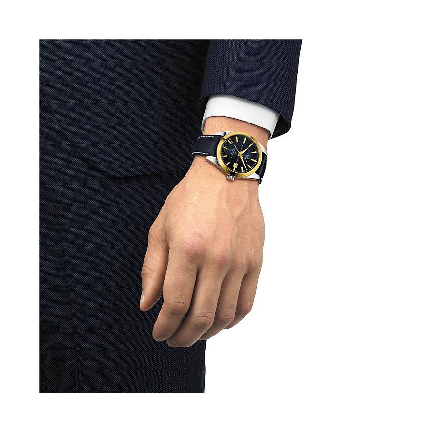 Tissot Herrenuhr Gentleman Powermatic 80 Silicium T9274074604101
