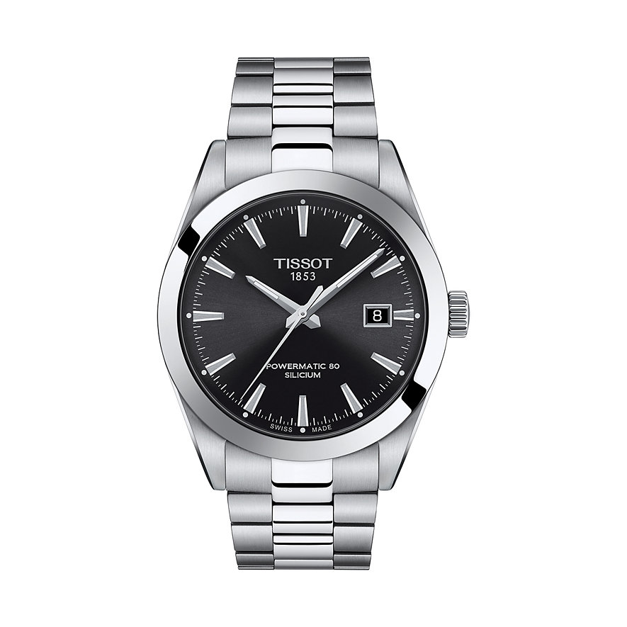 Tissot Herrenuhr Gentleman Powermatic 80 T1274071105100