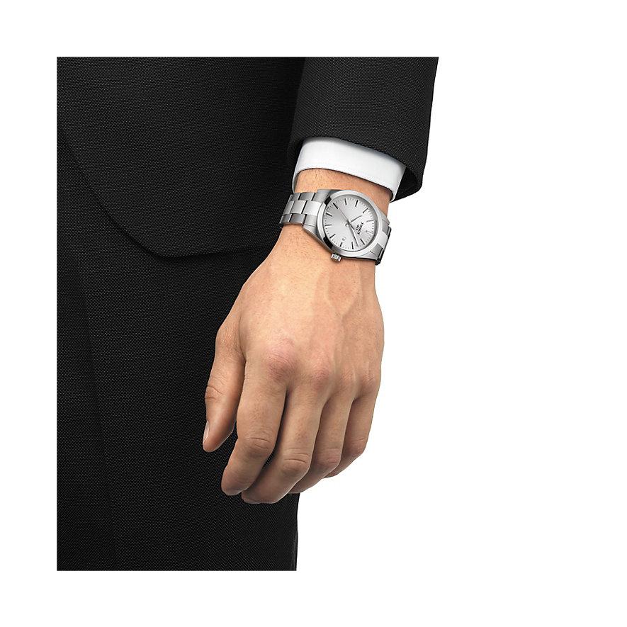 Tissot Herrenuhr Gentleman T1274101103100