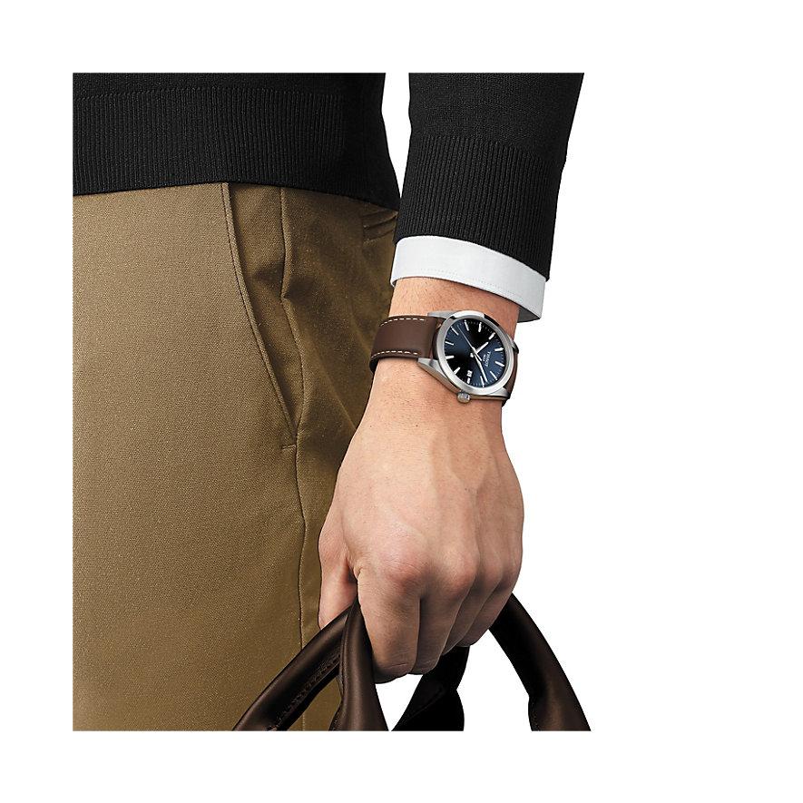 Tissot Herrenuhr Gentleman T1274101604100