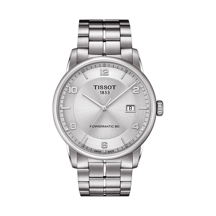 Tissot Herrenuhr Luxury Automatic Gent T0864071103700