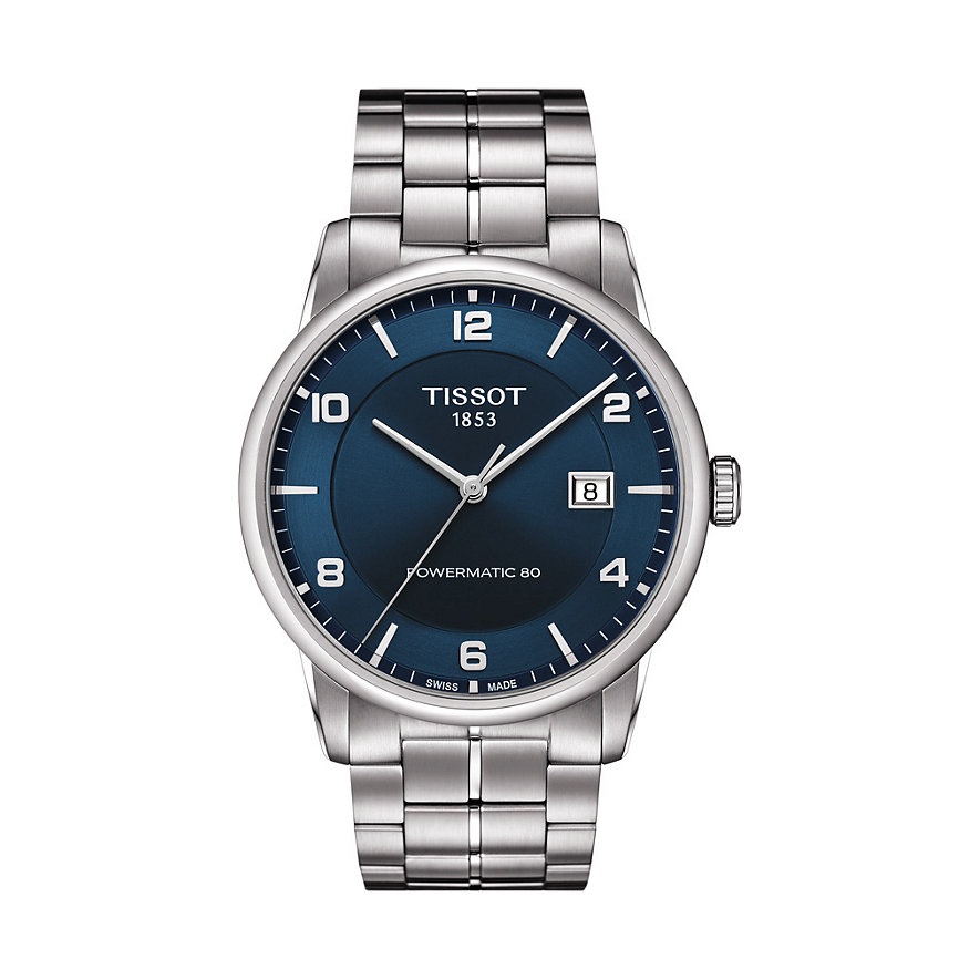Tissot Herrenuhr Luxury Automatic Gent T0864071104700