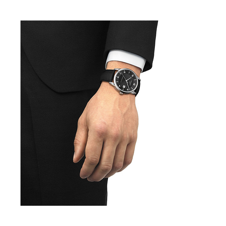 Tissot Herrenuhr Luxury Automatic Gent T0864071605700