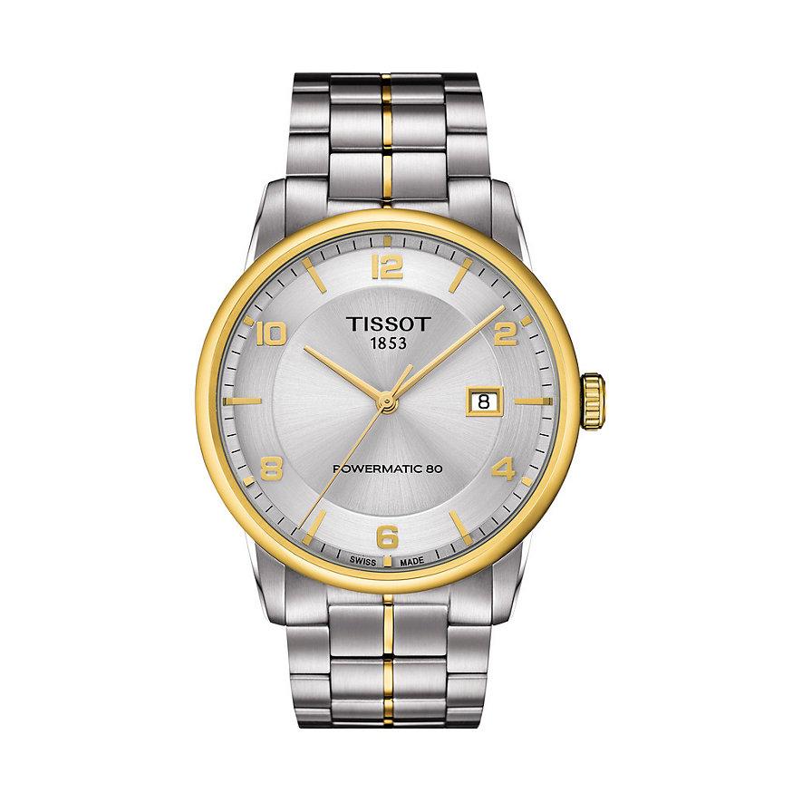 Tissot Herrenuhr Luxury Automatic Gent T0864072203700