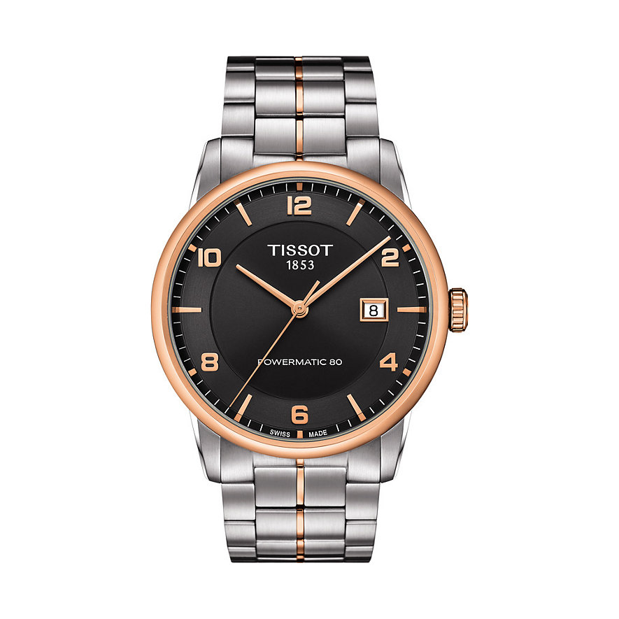 Tissot Herrenuhr Luxury Automatic Gent T0864072206700