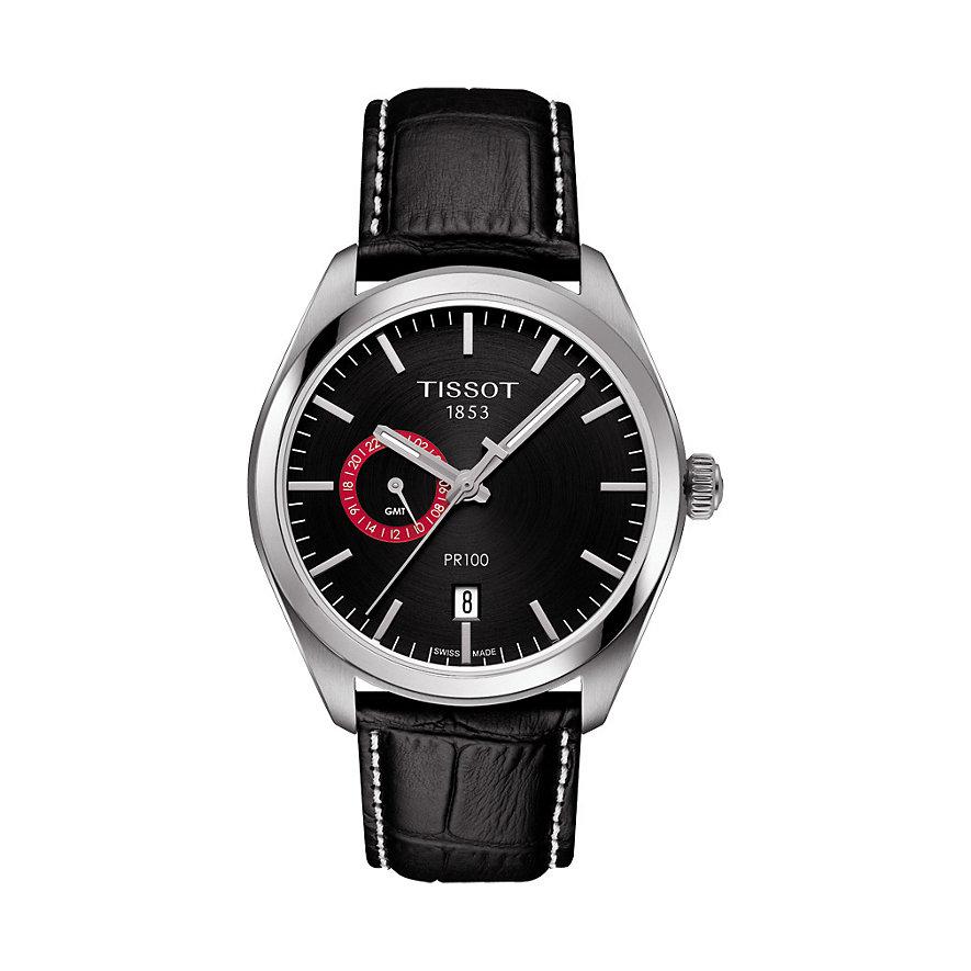 Tissot Herrenuhr PR 100 Dual Time T1014521605100