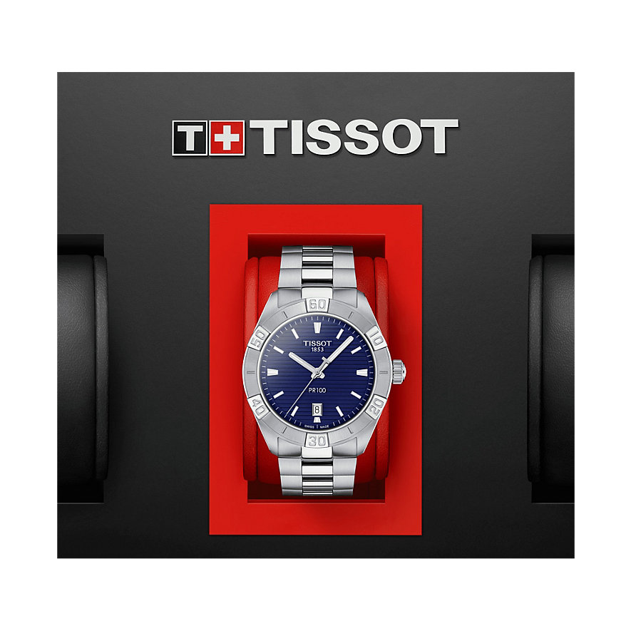 Tissot Herrenuhr PR 100 Sport Gent T1016101104100