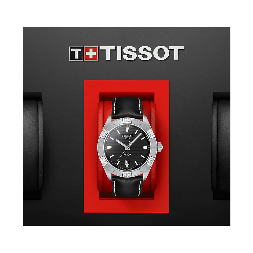 Tissot Herrenuhr PR 100 Sport Gent T1016101605100