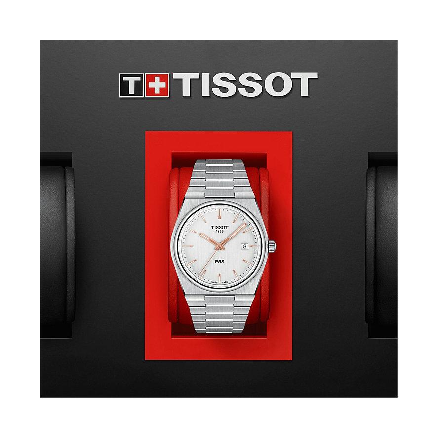 Tissot Herrenuhr PRX T1374101103100