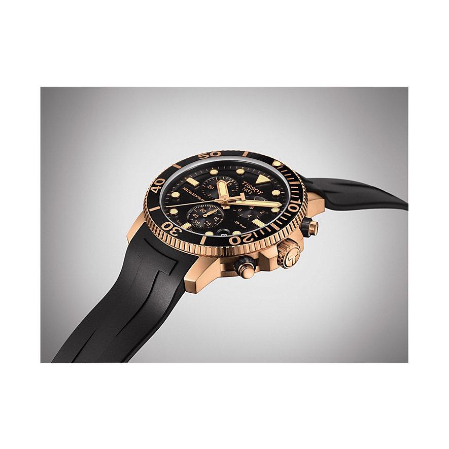 Tissot Herrenuhr Seastar 1000 Chronograph T1204173705100