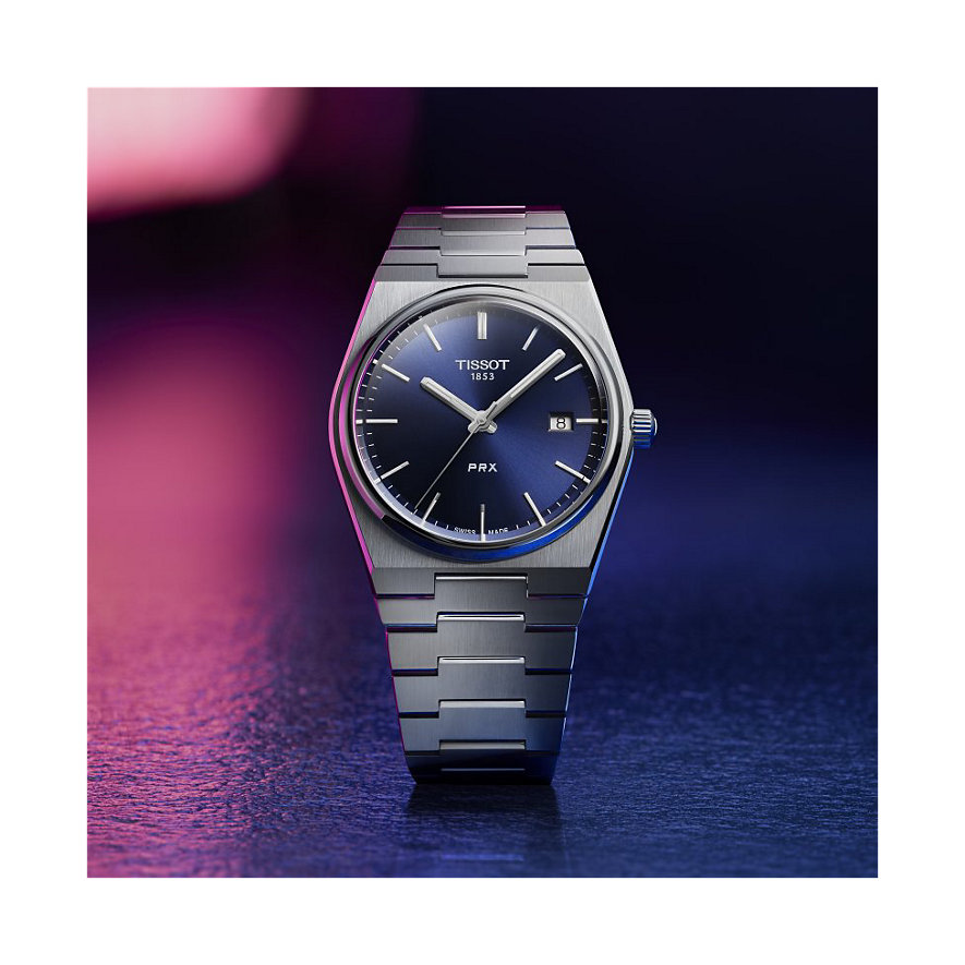 Tissot Herrenuhr T-Classic PRX T1374101104100
