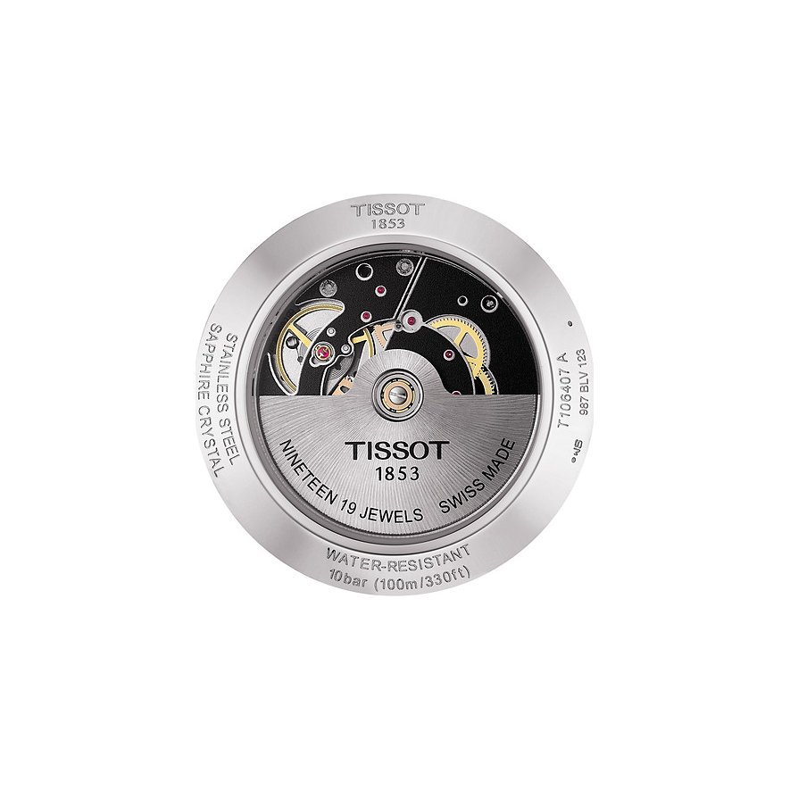 Tissot Herrenuhr V8 Swissmatic T1064071605100