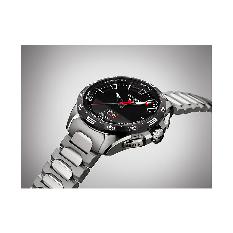 Tissot Hybriduhr Touch Collection T1214204405100