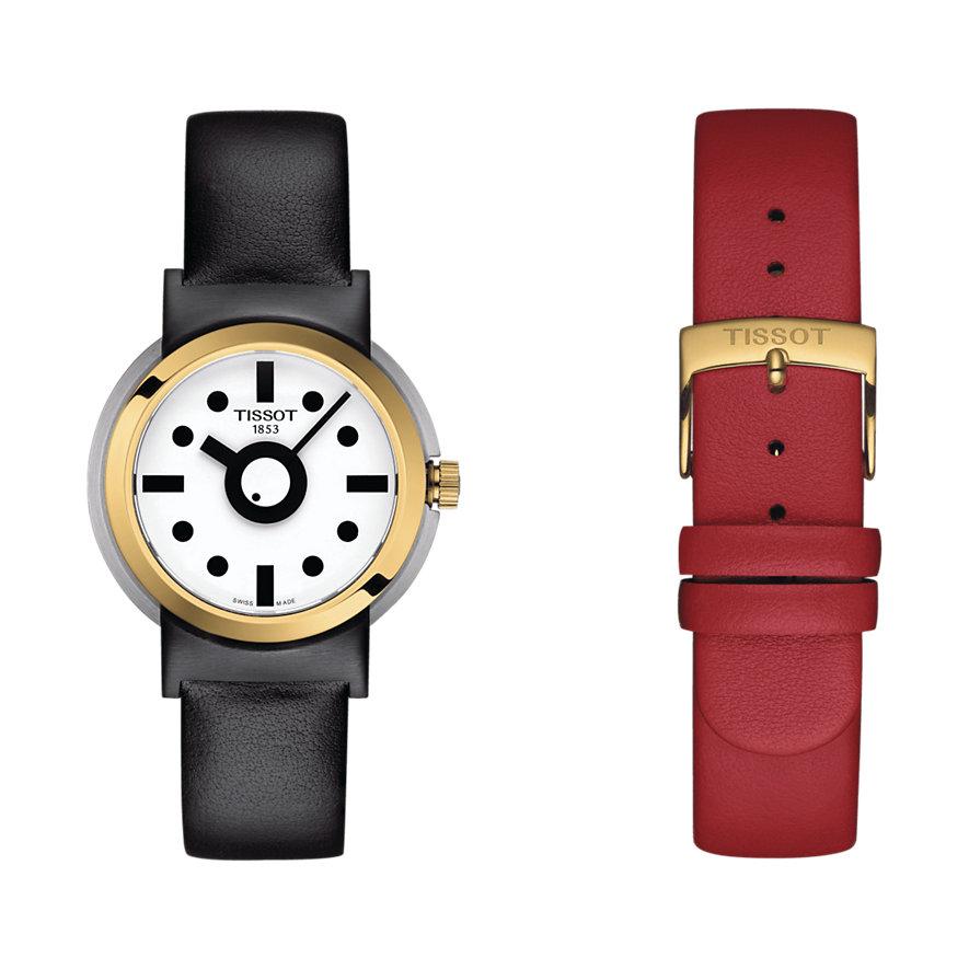 Tissot Uhren-Set Heritage Memphis Lady T1342102701100