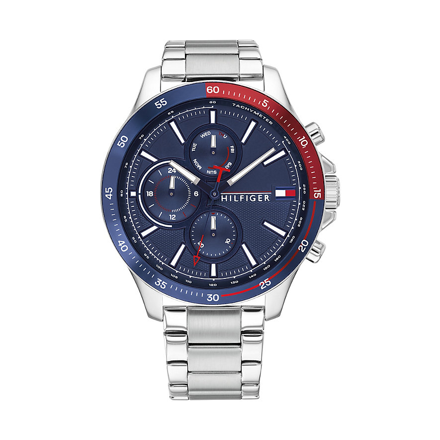 Tommy Hilfiger Herrenuhr Bank