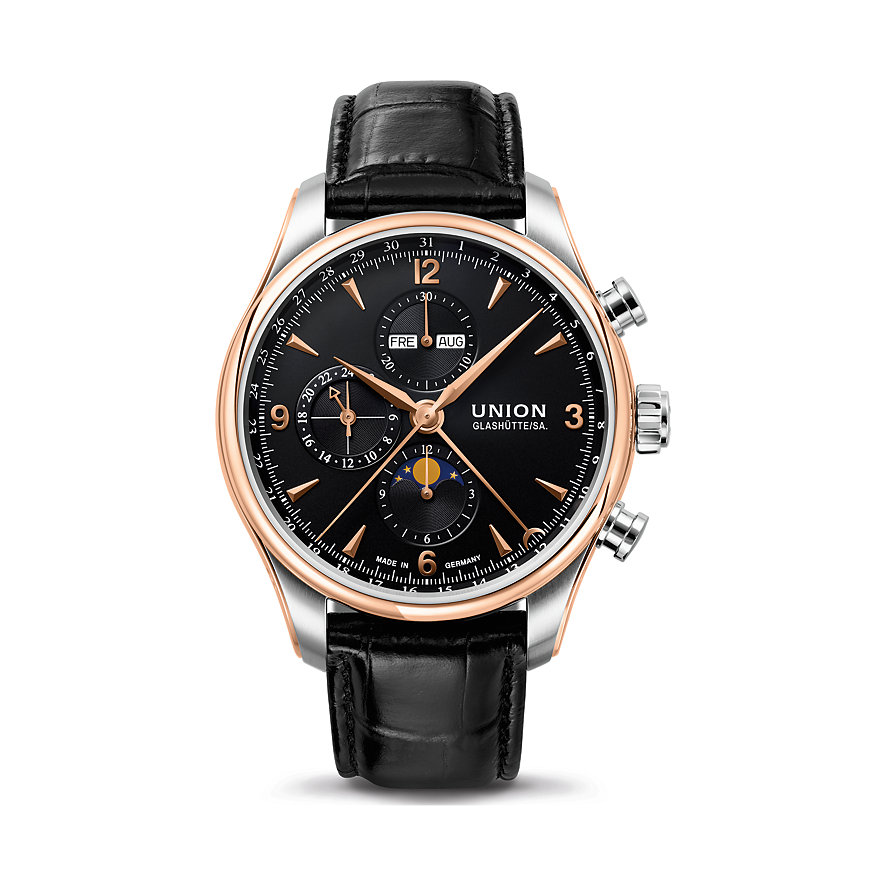 Union Glashütte Chronograph - Belisar Chronograph Mondphase D9044254605701