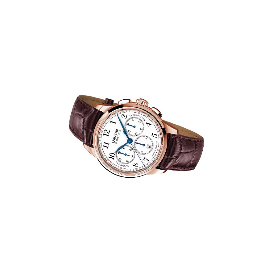 Union Glashütte Chronograph 1893 Johannes Dürrstein Edition Gold D9034597601700