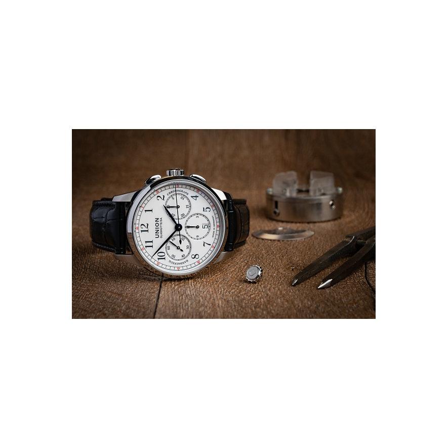 Union Glashütte Chronograph 1893 Johannes Dürrstein Edition Mondphase D0074591601700