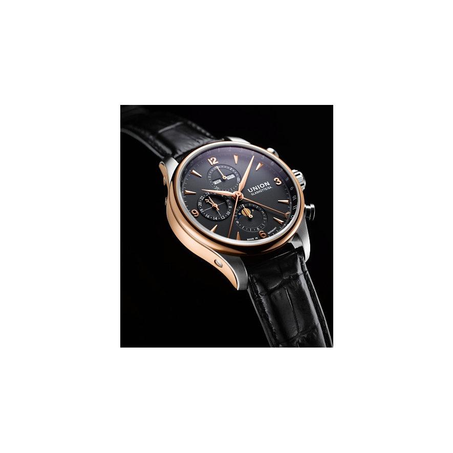 Union Glashütte Chronograph Belisar Mondphase Gold D9044254605701