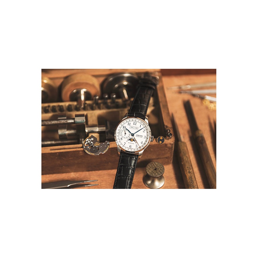 Union Glashütte Herrenuhr 1893 Johannes Dürrstein Edition Gangreserve D0074581601700