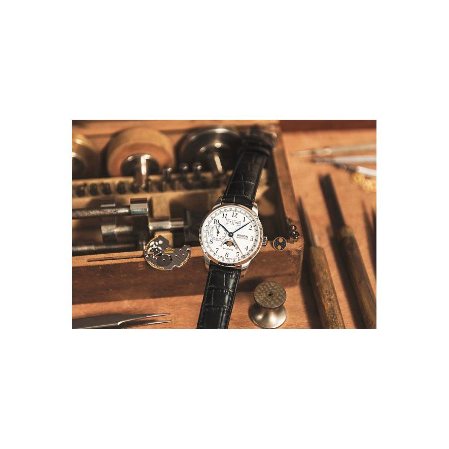 Union Glashütte Herrenuhr 1893 Johannes Dürrstein Edition Mondphase D0074581601700