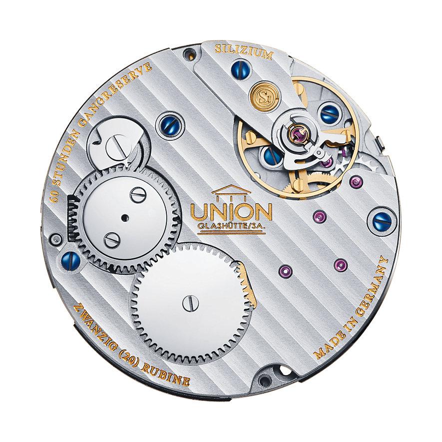 Union Glashütte Herrenuhr 1893 Johannes Dürrstein Edition Mondphase D9034587601700