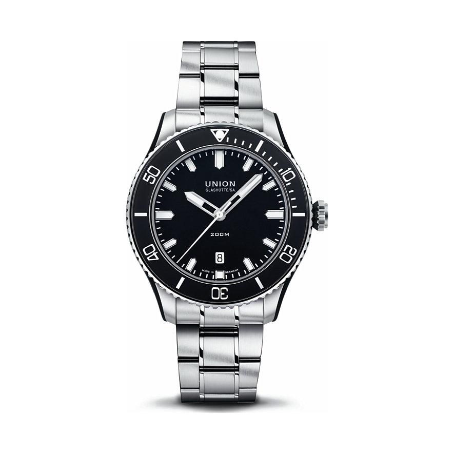 Union Glashütte Uhren-Set Belisar Datum Sport D0099071105700