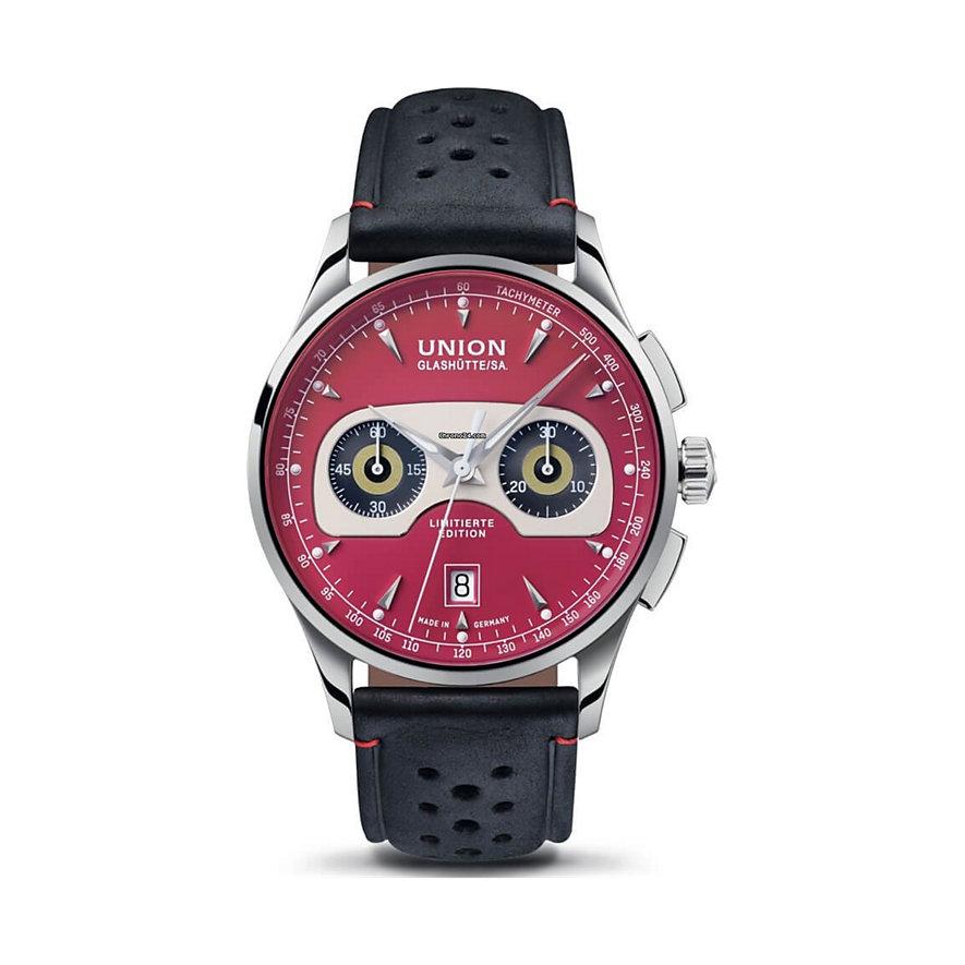 Union Glashütte Uhren-Set Noramis Chronograph Chronograph Ltd. Edition Sachsen Classic 2020 D0084271642109