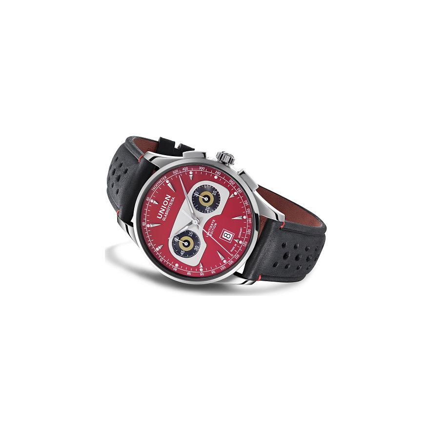 Union Glashütte Uhren-Set Noramis Chronograph Ltd. Edition Sachsen Classic 2020 D0084271642109