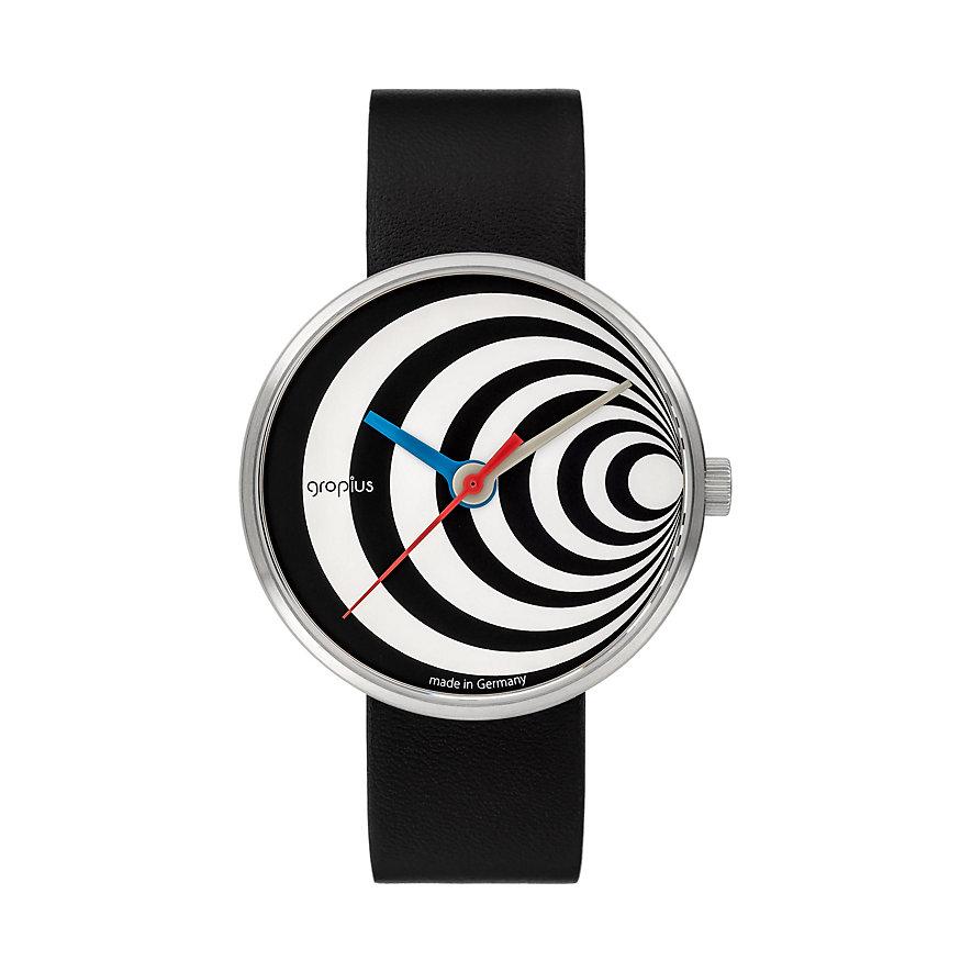 Walter Gropius Unisexuhr Excentric 002-02
