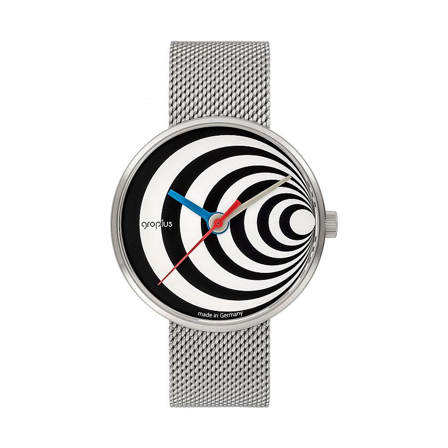 Walter Gropius Unisexuhr Excentric 002-02M