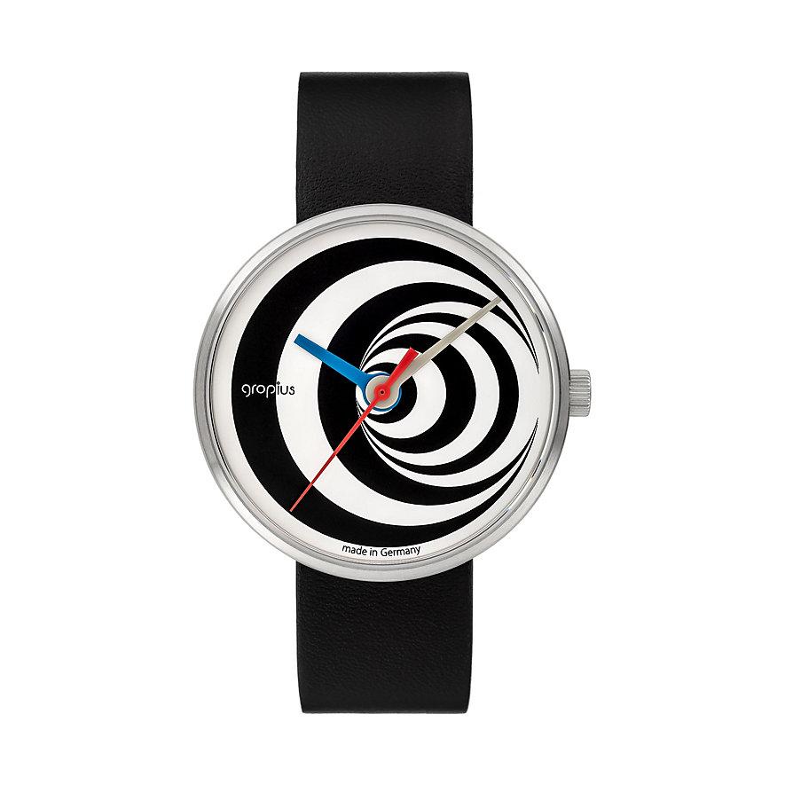 Walter Gropius Unisexuhr Excentric 002-04