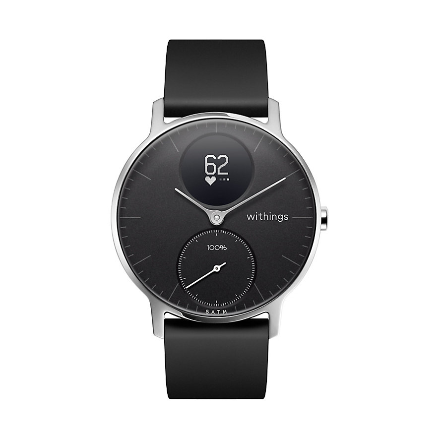 Withings Smartwatch HWA03b-36Black-All-lnter - W2