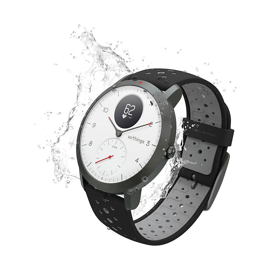 Withings Smartwatch HWA03b-40white-sport-all-Inter