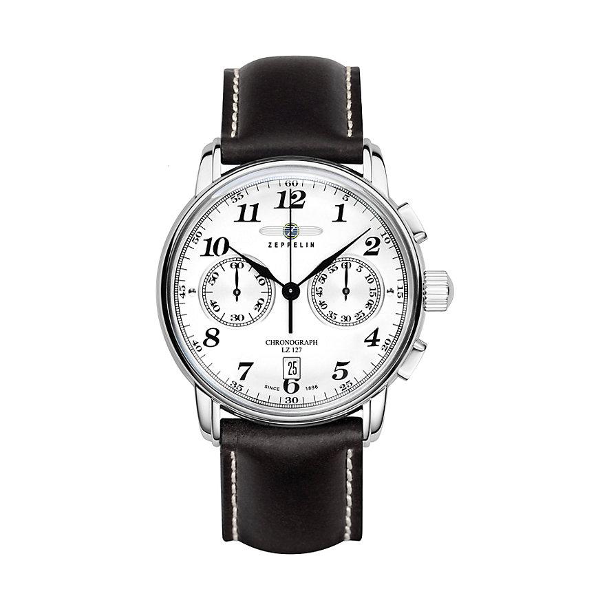 Zeppelin Herrenchronograph Graf 7678-1