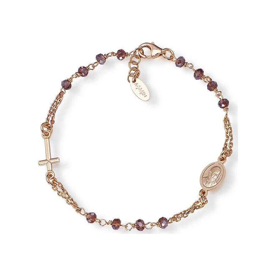 Amen Armband Rosaries crystal BRORVI3
