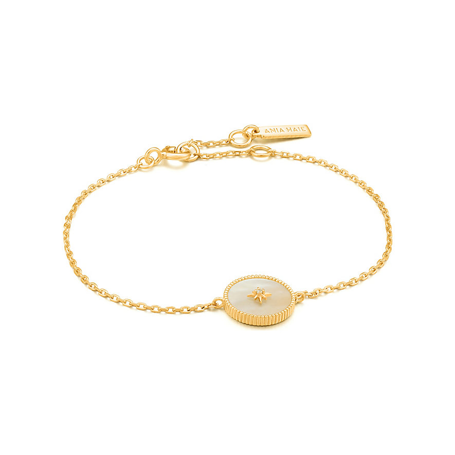Ania Haie Armband Mother Of Pearl Emblem B022-02G