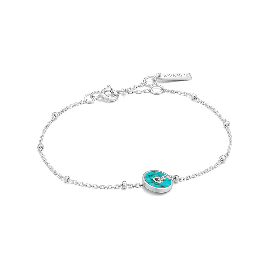 Ania Haie Armband Turquoise Disc B022-01H