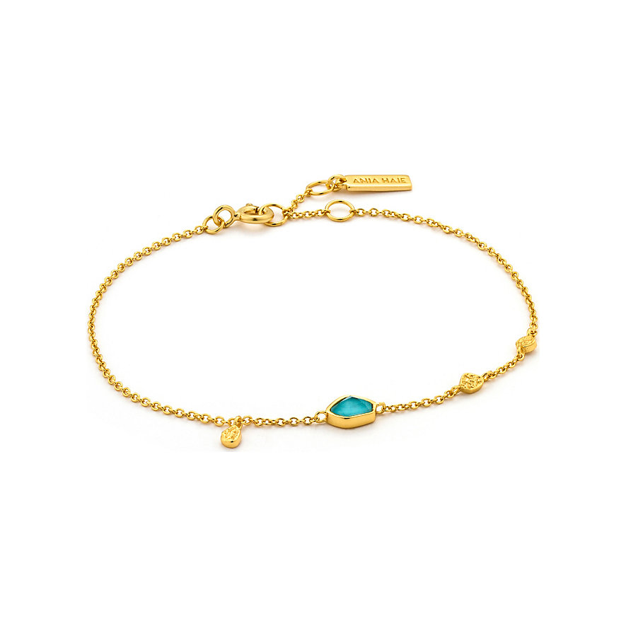 Ania Haie Armband Turquoise Discs B014-01G