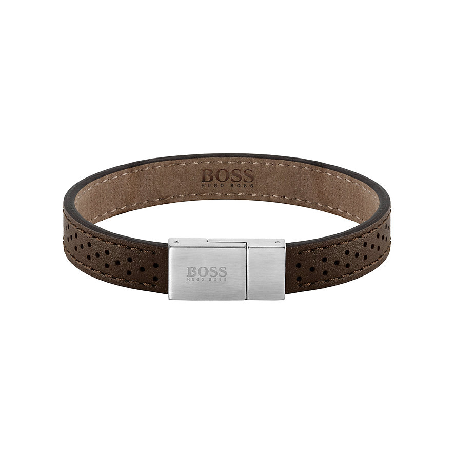 Boss Armband Leather Essentials 1580034M