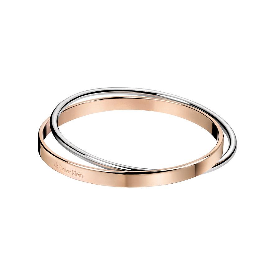 Calvin Klein Armreif Coil KJ63BB01010S