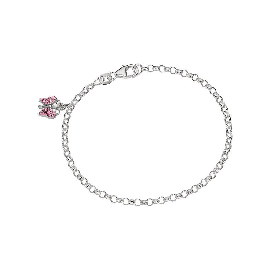CHRIST Armband rosa Schmetterling