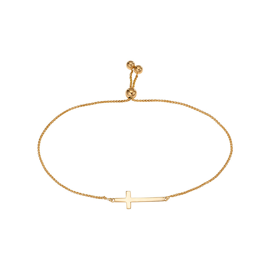 Christ Gold Armband Kreuz