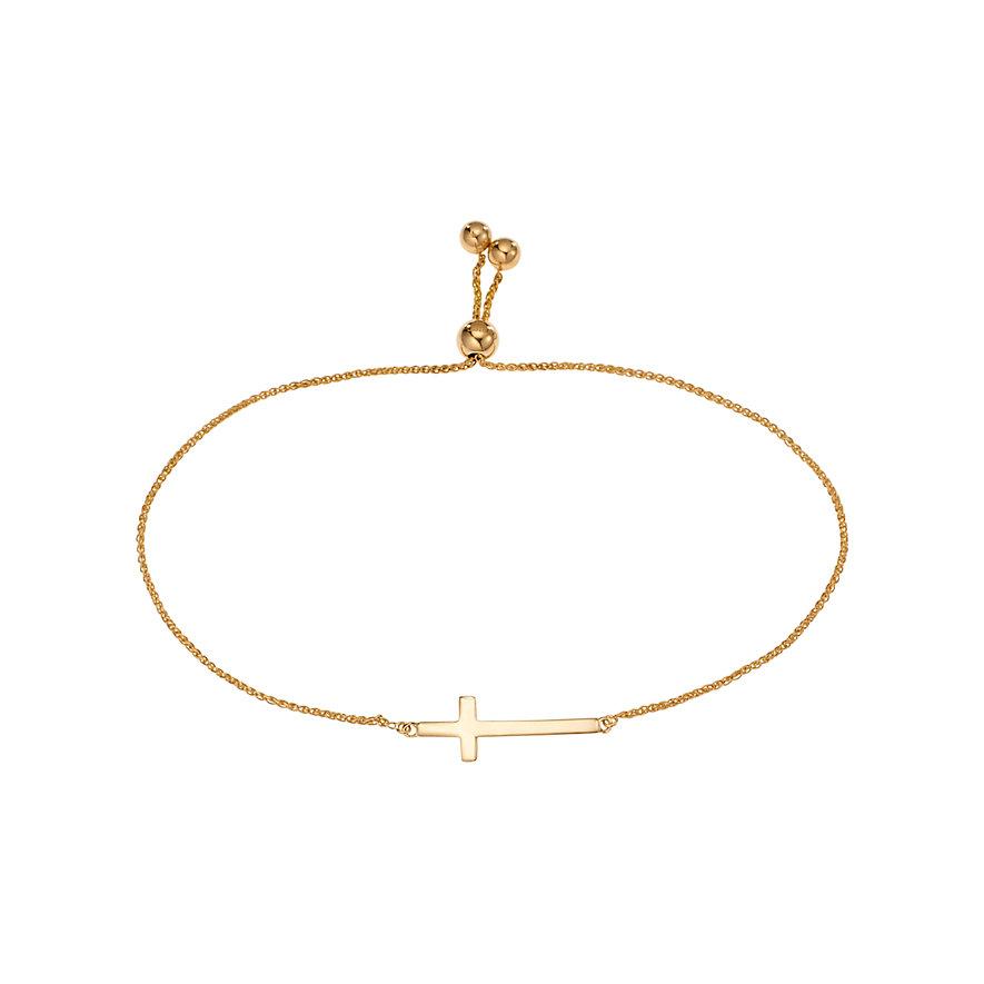 CHRIST Gold Armband Kreuz 87341038