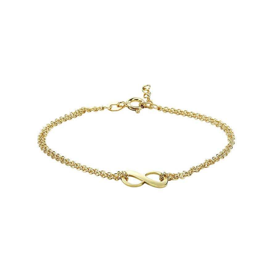 CHRIST Gold Armband Unendlichkeit 86330059