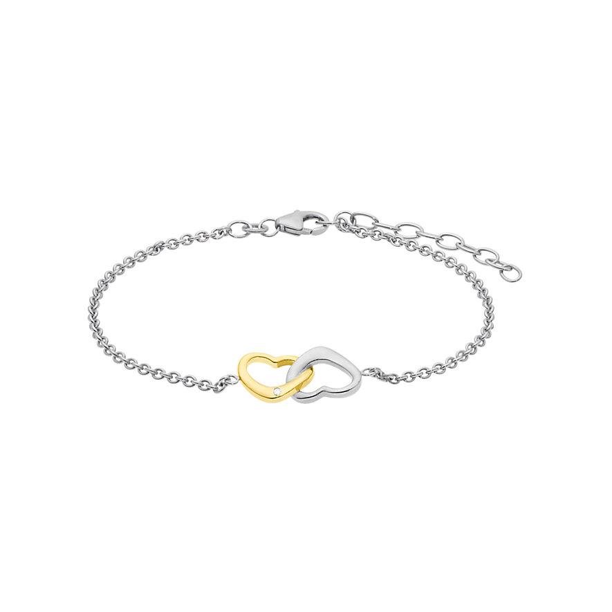 CHRIST Silver Diamonds Armband 87300595