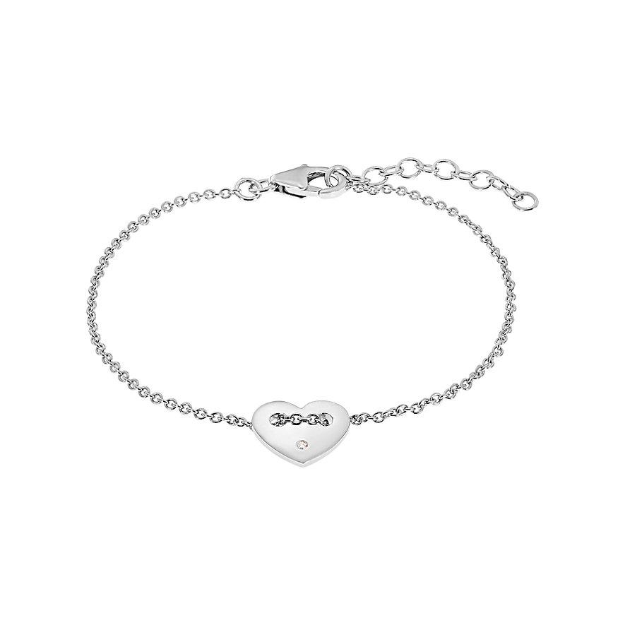 CHRIST Silver Diamonds Armband 87496589